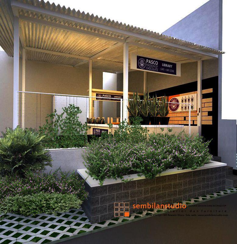 Tampak Depan Desain Mini Cafe Desain Minimalis Desain Restoran