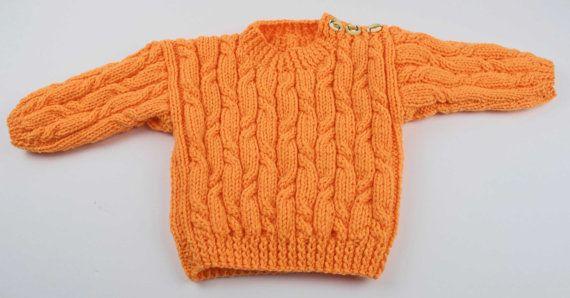 Child\'s Aran Sweater | La niña, Suéteres y Niños pequeños