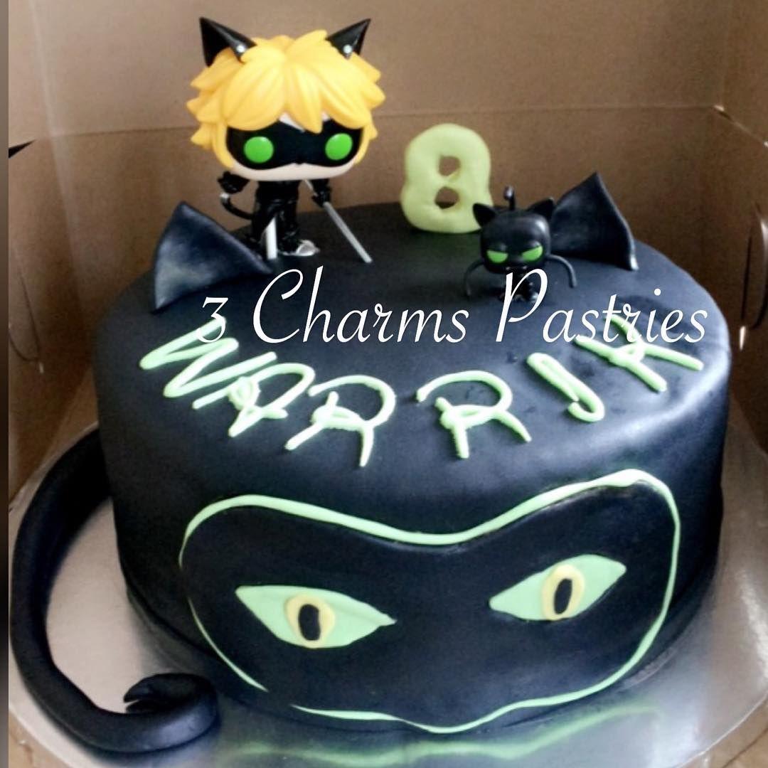 Miraculously Ladybug And Cat Noir Cake Miraculousladybug Miraculouscatnoir Cake Happybirthday Birthdaygir New Birthday Cake Alcohol Birthday Cake Cake Cat