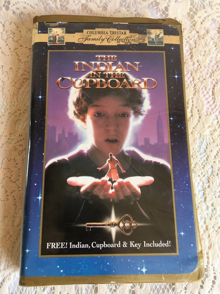 The Indian In The Cupboard Vhs 2000 Clam Shell Case Closed Captioned Indian In The Cupboard Clam Shell Case Closed