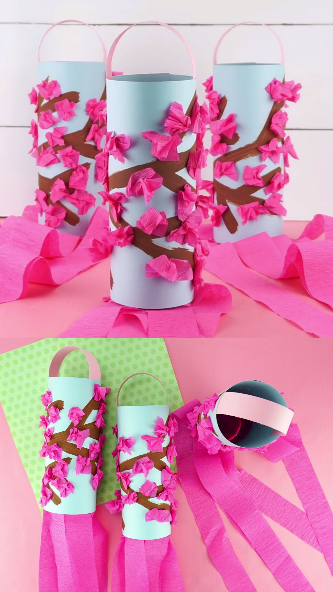 Photo of Beautiful Cherry Blossom Spring Craft for Kids