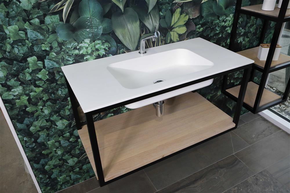 Italiaans design in de badkamer luca steel stalen frames voor de