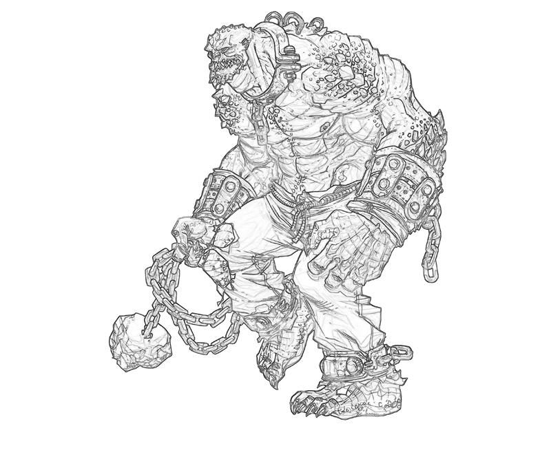 batman arkham city killer croc weapon coloring pages