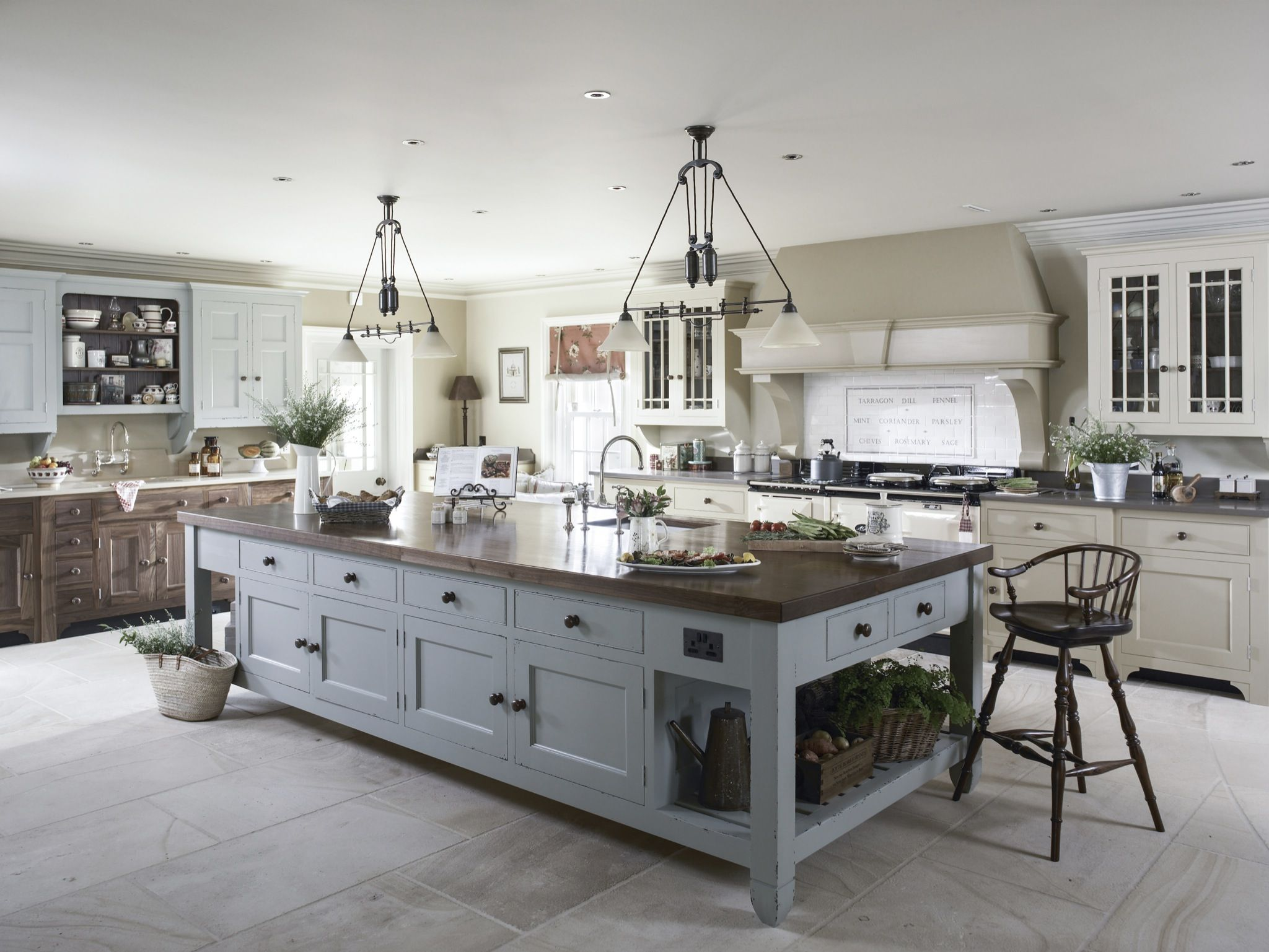 Country House Ireland Hayburn & Co Country kitchen