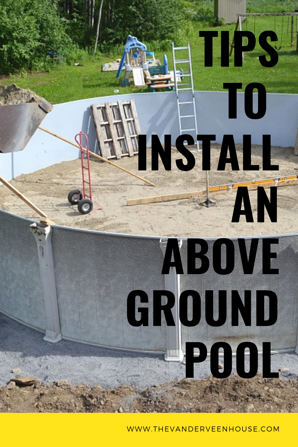 Top tips to install an above ground pool