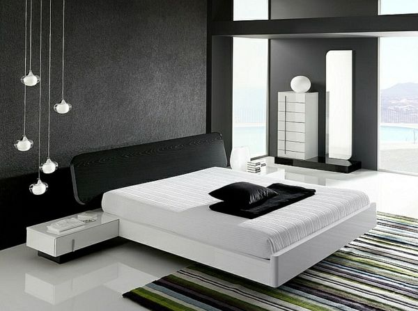 minimalistisch einrichten schlafzimmer. Black Bedroom Furniture Sets. Home Design Ideas