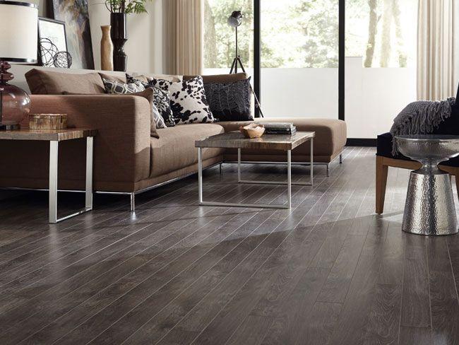 Dark Laminate Flooring Living Room Contemporary Coffee Tables For Tarkett In Trends Oak Dusk Livingroom Neutrals Floors Wood