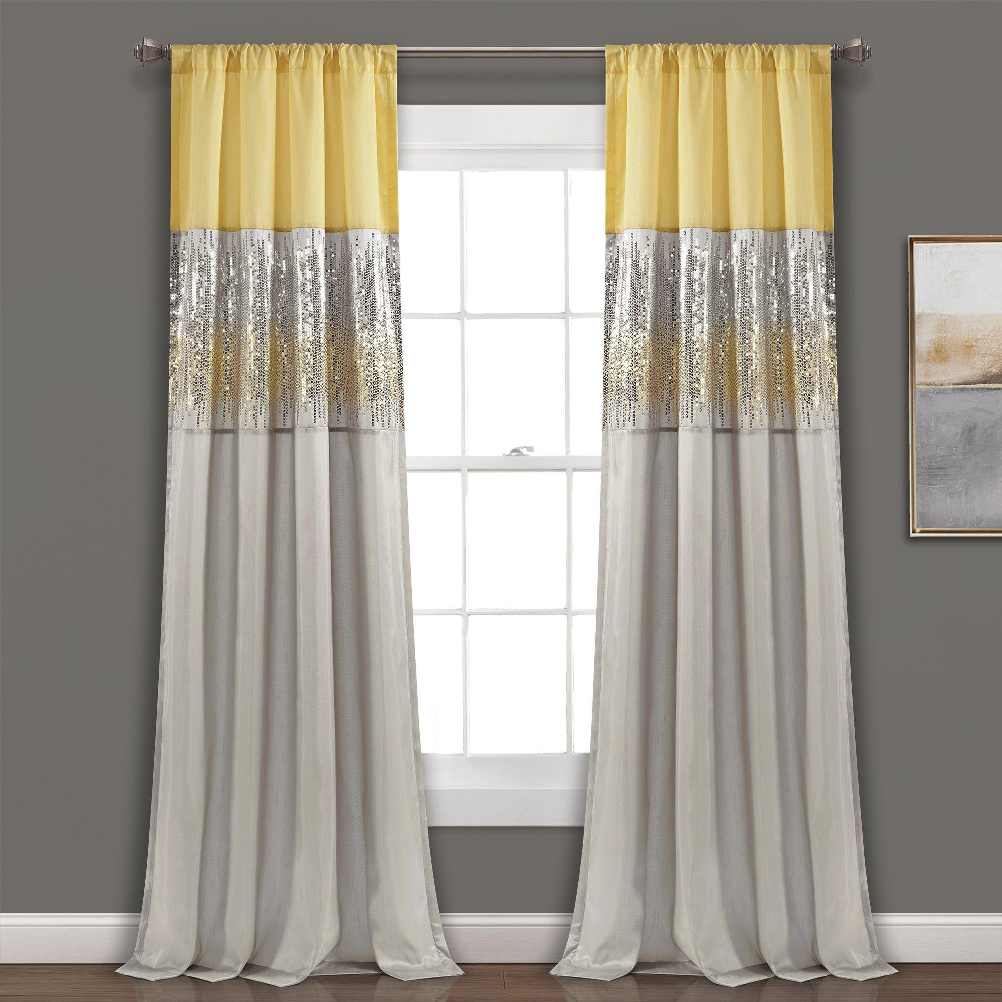Night Sky Window Curtain Panel in 2020 | Panel curtains ...