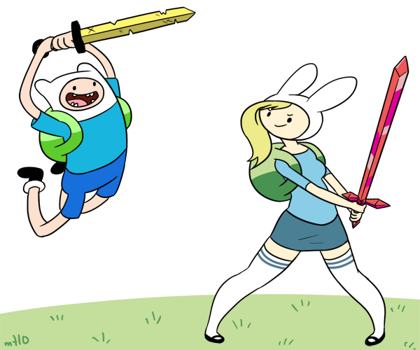 Finn And Fiona Adventure Time With Finn And Jake 22272054 600 500 Png 600 500 Pixels Adventure Time Costume Adventure Time Adventure Time Wallpaper