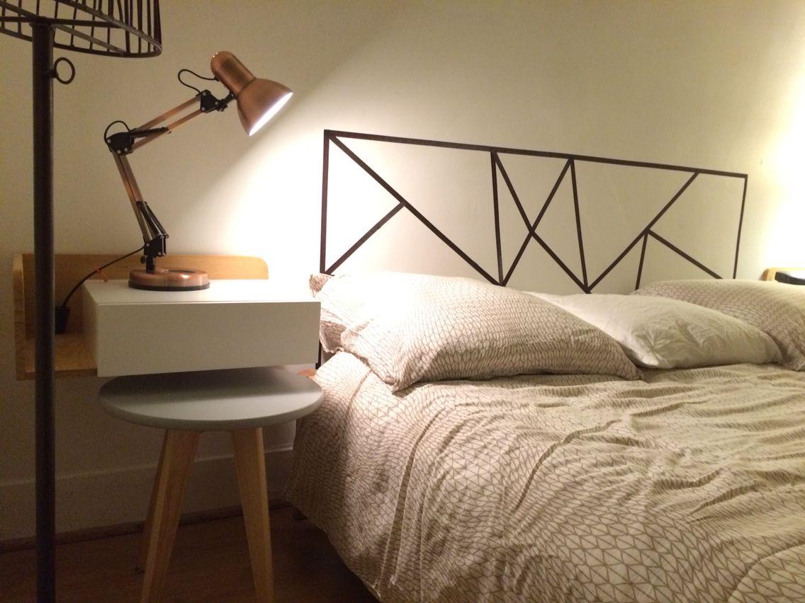 Decoration Murale Pour Tete De Lit tête de lit masking tape | diy tete de lit, tête de lit en