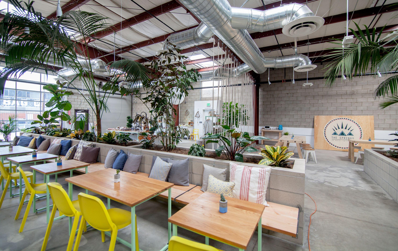 Wellness Centers Become Hip New Hangout Spots Juice Bar Wellness Center Cafe Design