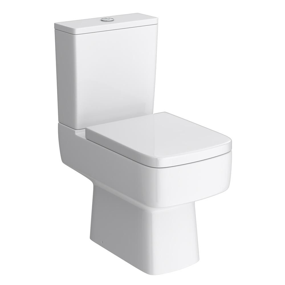 black square toilet seat. Brooklyn Modern Square Toilet Soft Close Top Fix Seat  Squares and