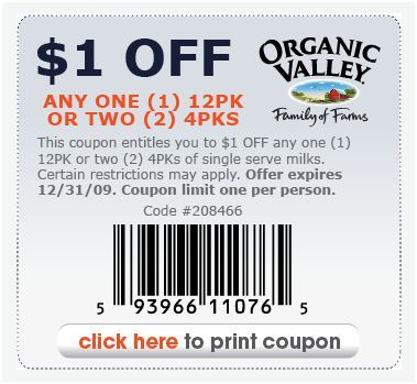 picture regarding Organic Valley Coupons Printable referred to as Natural and organic Valley Coupon codes guide coupon specials Free of charge