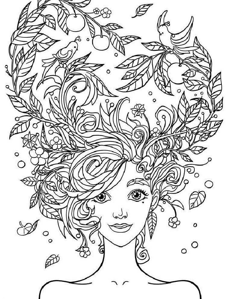 Crazy Hair Coloring Pages Other That I Love Libro De Colores