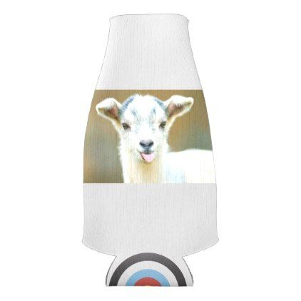 GOAT bottle Cozy Bottle Cooler - home gifts ideas decor special unique custom individual customized individualized