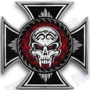 2018 Hot Sale! Fashion Skull Embroidered Patches For Full Back Size Of  Jackets Motorcycle Biker Patch 30cm*28cm From Jonnaean, $12.07 | Dhgate.Com