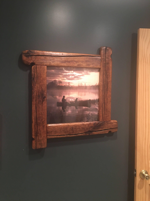 Arredamento Casa Western rustic frame, wood frame, western frame, lodge decor