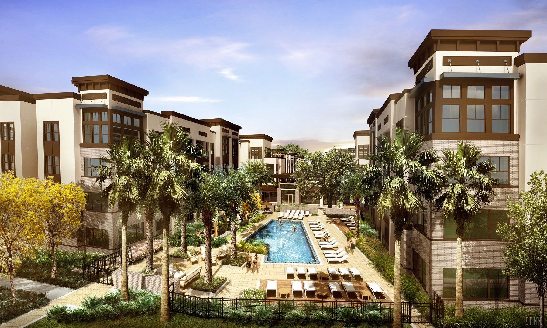 Crescent Communities Breaks Ground On Crescent Gateway Luxury Apartment Community Is First Phase Of Cresce Architecture Design Architect Apartment Communities