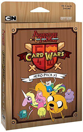 Cryptozoic Entertainment Adventure Time Card Wars Hero Pack Card Game Cryptozoic Entertainment http://www.amazon.co.uk/dp/B00NP7E2RW/ref=cm_sw_r_pi_dp_3Uyhwb1NB9K3P