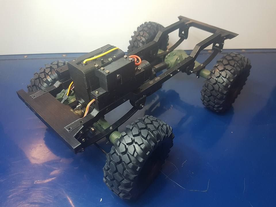 3d printed willys rc 4x4 by 3danarchy thingiverse 3d
