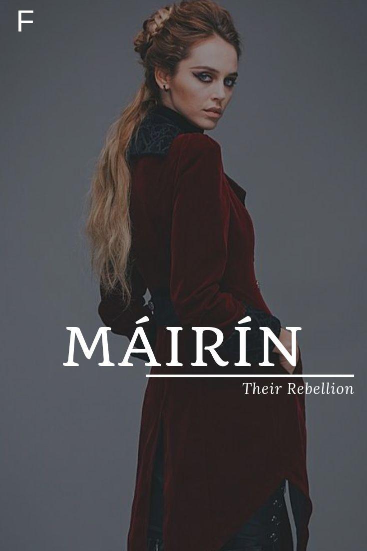 Mairin Meaning Their Rebellion Irish Names M Baby Girl Names M Baby Names F Bullet Baby Bullet Girl I Irische Namen Babynamen Weibliche Namen