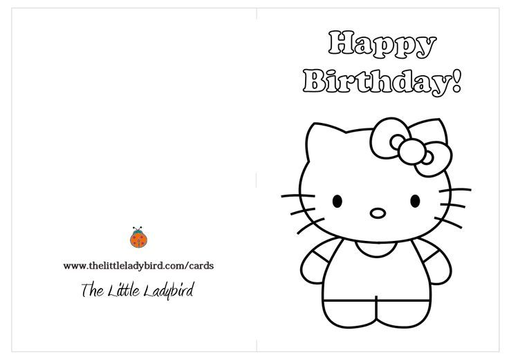 Hello Kitty Birthday Card Ideas Images Birthday Greeting Card Hello Kitty Birthday Hello Kitty Colouring Pages Hello Kitty Coloring