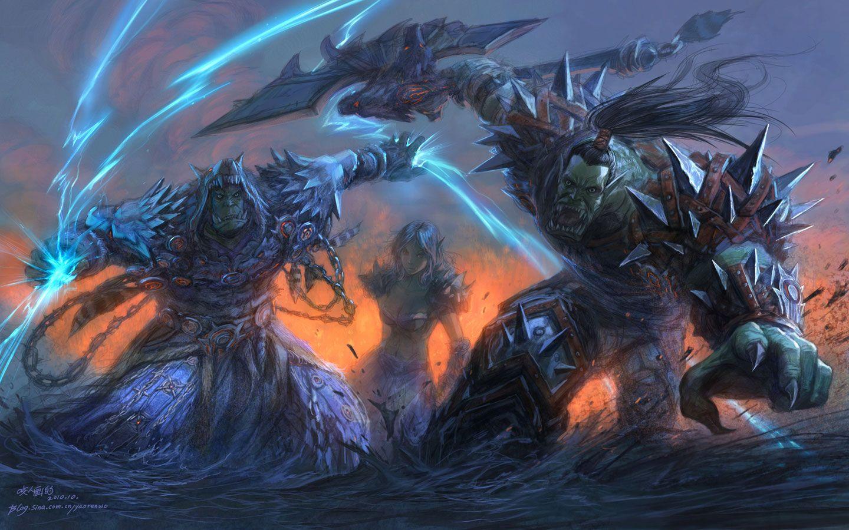 Illustration De Yaoren Wo In 2019 World Of Warcraft