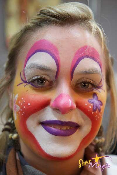 Clown schmincken google zoeken schmink en carnaval for Clown almere