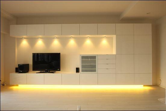 album 4 banc tv besta ikea r alisations clients s rie 1 ikea pinterest meuble tv. Black Bedroom Furniture Sets. Home Design Ideas