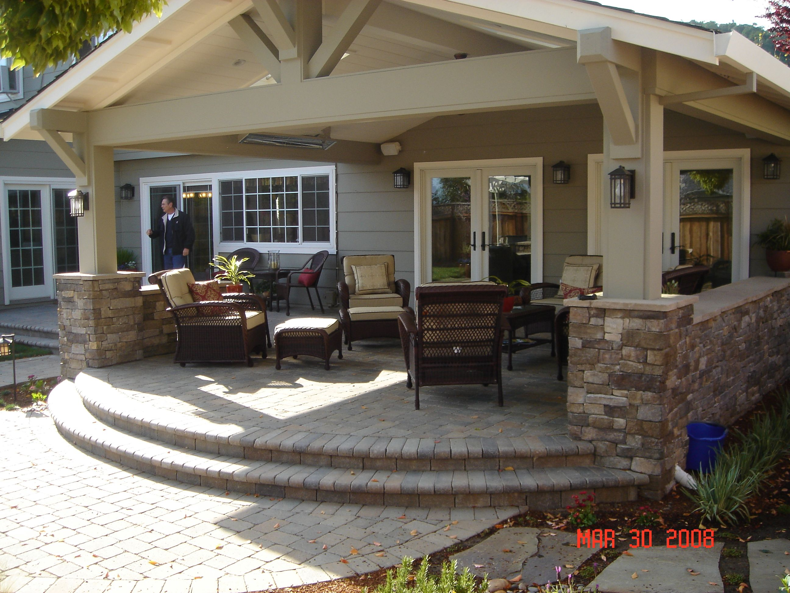 Beautiful Outdoor Patios Covered Porches