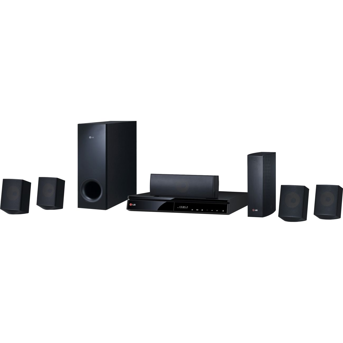 With LG's BH6830SW home theater system you can customize your TV