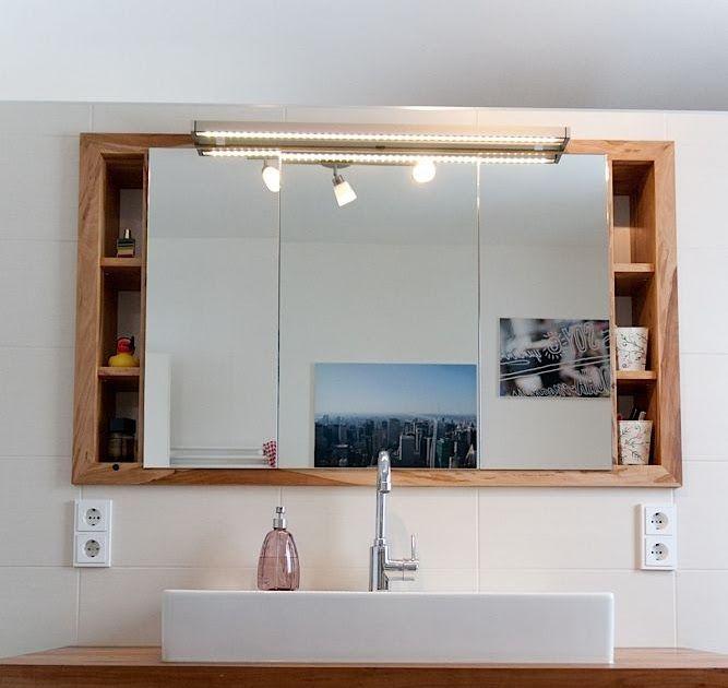 Spiegel Einbauschrank Badezimmer In 2020 House Interior Home