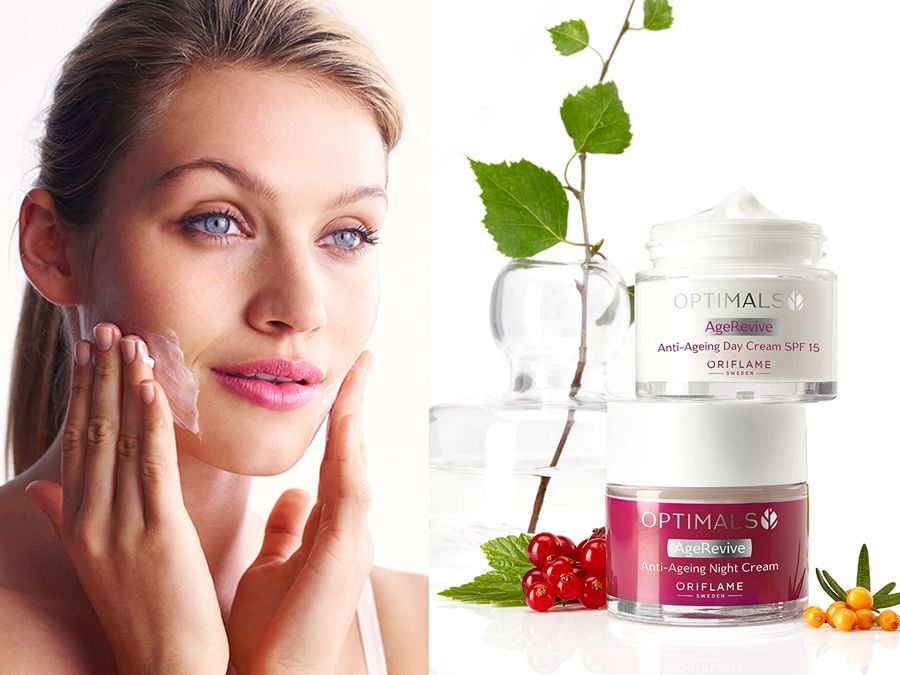OPTIMALS AGE REVIVE - Oriflame Cosmetics UK - Anti aging..