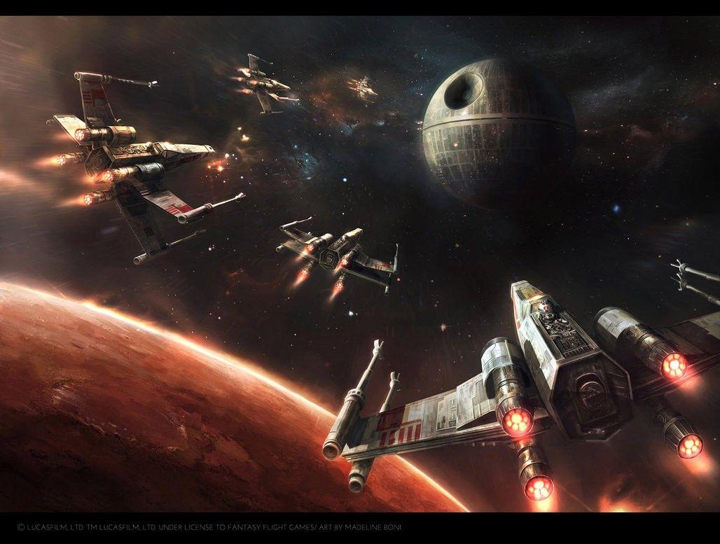 Destroy The Death Star Star Wars Star Wars Star Wars Art Star
