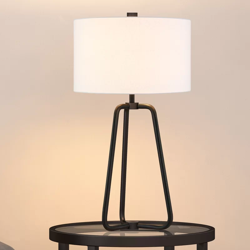 Foundstone Eric 26 Table Lamp Reviews Wayfair In 2020 Table Lamp Industrial Table Lamp Farmhouse Table Lamps