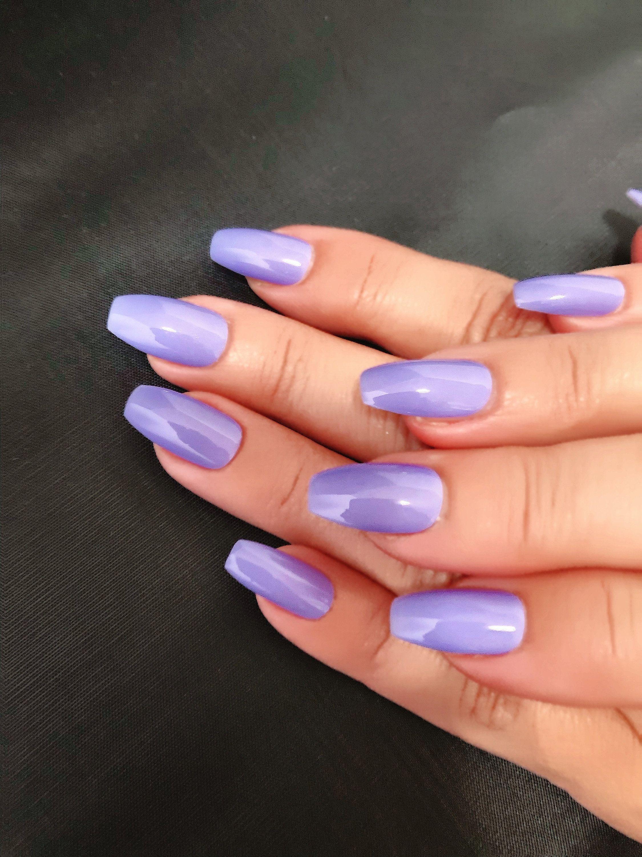 Purple/Lavender Nail Polish Nail Lacquer Fall Nail Polish : | Etsy
