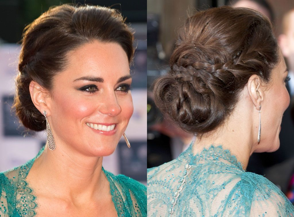 Wedding Hairstyle Kate Middleton : Woven together from kate middletons best hair moments updo