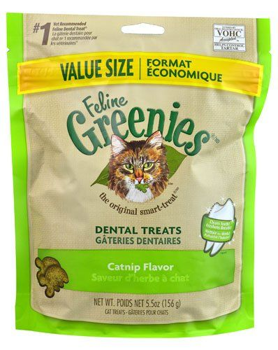 Greenies Feline Dental Treats Catnip 5.5 oz >>> Read