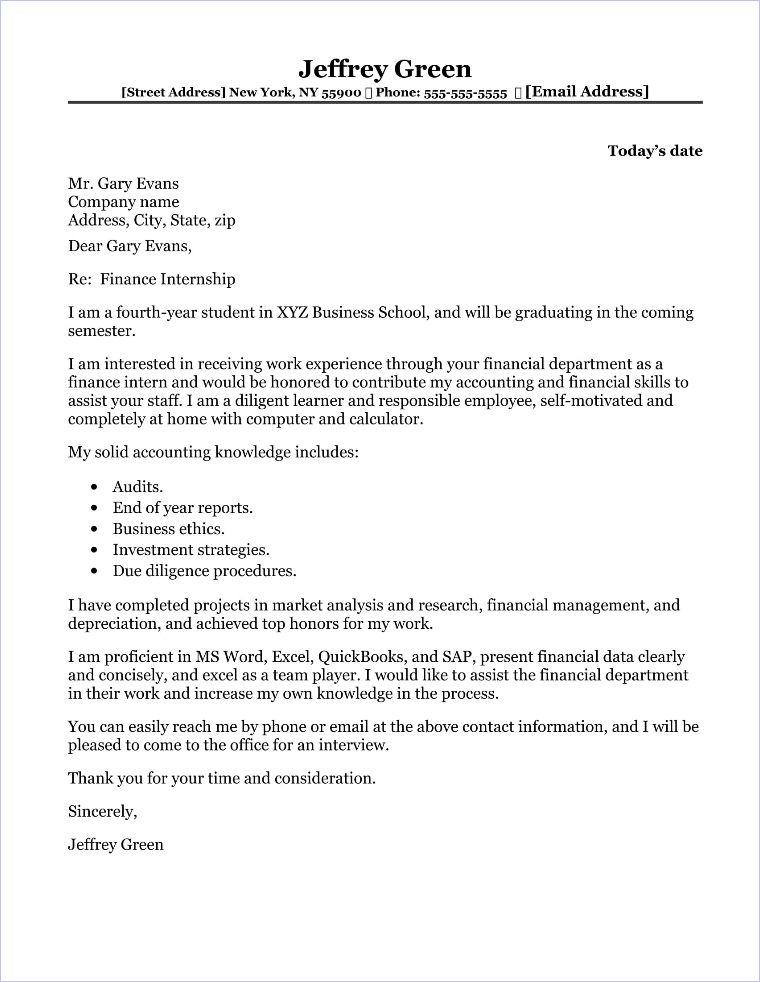 cover letter examples for summer intern Hospitality - Google ...