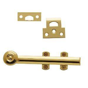 Baldwin 0346 6 Inch Decorative Heavy Duty Semi Concealed Surface