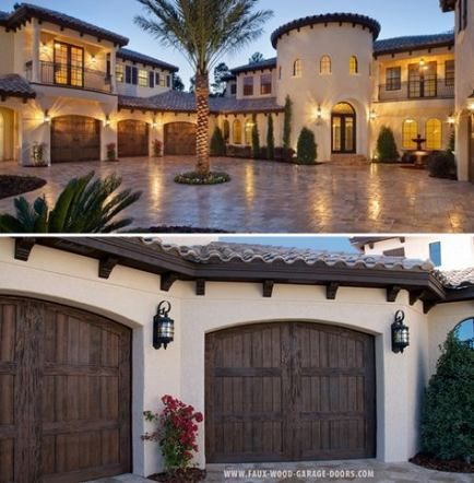42 Trendy exterior paint colora for house spanish garage doors