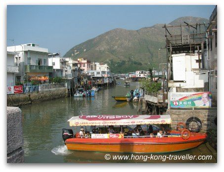 how to go to lantau island from central
