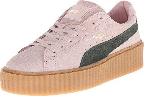 Zapatos rosas Puma Suede para mujer rwjYKN