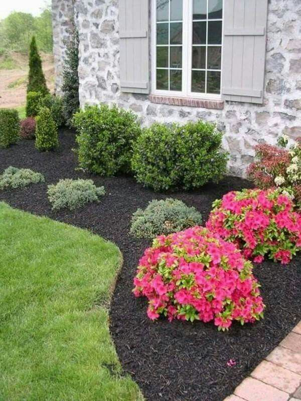 Add A Pop Of Color With Strategically Placed Flowering Plants In Your Landscape Keep Front Yard Landscaping Design Outdoor Landscaping Front Yard Landscaping