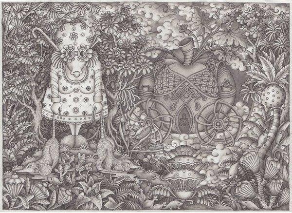 The Bog by Ree Treweek, via Behance