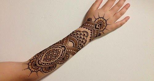 Mehndi Henna Butterfly : Tattoos symbol artistic design ideas arm hand foot women henna
