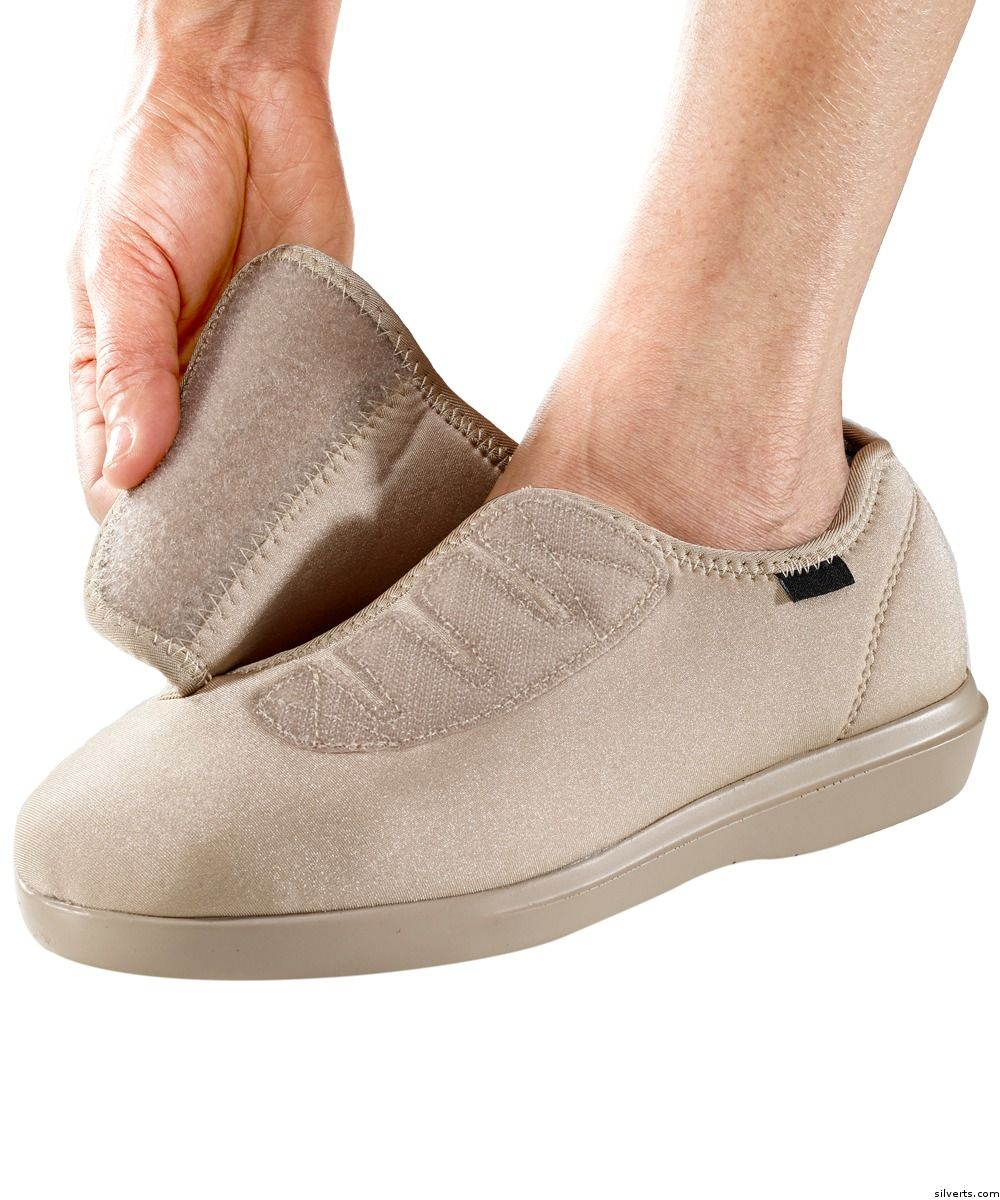 Velcro Womens Shoes For Swollen Feet