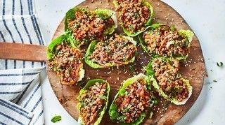 Joe Wicks Feel Good Food: Thai turkey lettuce wraps (With ...