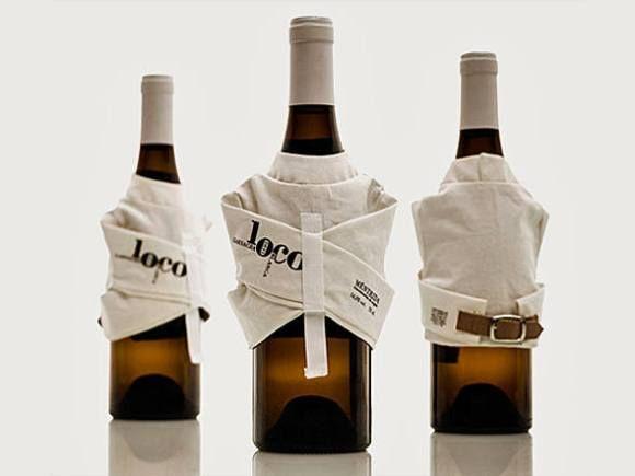 Vino Loco com camisa de força   Marketing Promocional   @Promoview