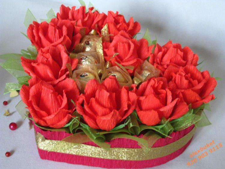 Букет конфет для любимого
